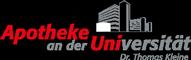 Apotheke an der Universität aus Bielefeld Sticky Logo